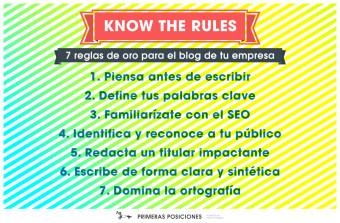 Reglas blog corporativo